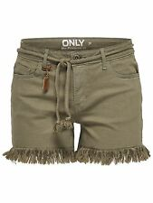 46/8 NEU ONLY Damen Jeans Hose Bermuda onlBREEZE REG RAW EDGE SHORTS PNT Gr. 38