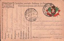 1917 FRANCHIGIA 49° FANTERIA BRIGATA PARMA - GENIO ZAPPATORI - DAL FRONTE C8-310