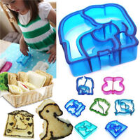 Kid Cartoon Lunch Sandwich Toast Cookies Mold Cake Bread Biscuit Cutter Mould