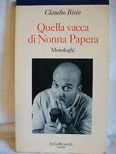Claudio Bisio - Quella vacca di Nonna Papera - Baldini&Castoldi 1993