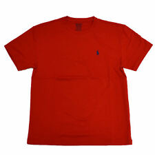 Brand New Polo Ralph Lauren Mens Short Sleeve Crew Neck T-Shirt Medium Red