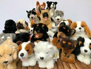 "Bocchetta Plush Toys Floppy Dogs ""Most Realistic Plush Puppies NWT"