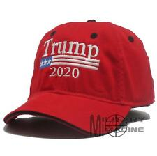 New Trump Red Cap USA Flag Keep America Great Maga hat President 2020