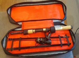 Mitchell Outback Deluxe Spincasting Fishing Combo Travel  Kit