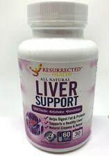 Liver Cleanse Support Supplement Milk Thistle Artichoke Dandelion Veggie 60 ct