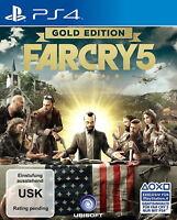 Far Cry 5 - Gold Edition (Sony PlayStation 4, 2018) / Vorbestellung für 27.03.18