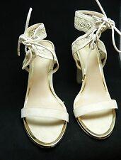 Disney Alice in Wonderland Shoes Call it Spring Beige Pumps Heels Shoes Sz 10