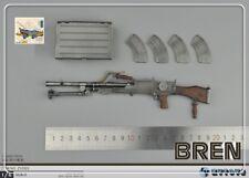1:6 Scale Action Figure ZYTOYS WW2 UK BRITISH ARMY MACHINE GUN MODEL BREN