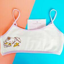Hello Kitty girls Bralette Cami Crop Top💙Japan Harajuku Fashion camisole Sanrio