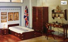 Occasione sul nuovo Cameretta stile marina completa legno di mogano artigianale