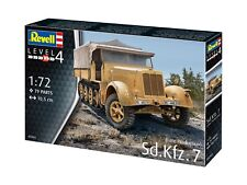 Revell 1:72 Scale - Sd.Kfz.7 (Late Production) Model Kit 03263