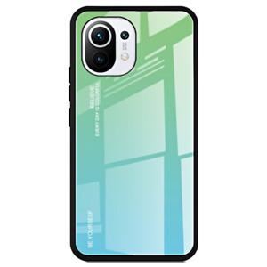 Cover For Xiaomi Mi 11 Original Case Gradient Glass + Tempered Glass 9H
