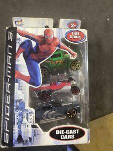 3 Pack of Spider-Man 3 Marvel MGA 1:64 Die Cast Cars