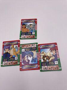 1998 Pokemon Master Trainer Board Game  4 Rival Cards