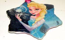 Disney Parks Christmas Ornament 2015 Elsa Anna Frozen Star Porcelain two sided