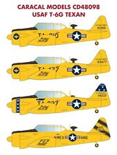 Caracal Models 1/48 USAF North-American T-6G Texan # 48098