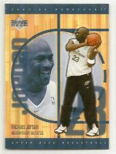 MICHAEL JORDAN 2001-02 Upper Deck Hardcourt #121 Washington Wizards