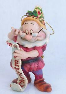 Enesco- WaltDisney Show collection*Doc Ornament * No. A9042