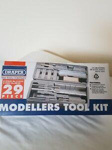 DRAPER 21835 29 Piece Modellers Tool Kit Brand New