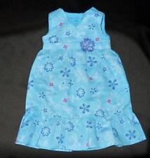 AMERICAN GIRL KANANI BLUE FLORAL MEET DRESS - NANEA