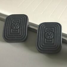 VW Brake Clutch Rubber Pedal Covers PAIR  oval split okrasa petri zwitter kdf