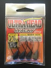 Owner,Wacky Jig Head,Ultrahead,3/16oz,4/pk,#5154-031