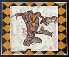 Paul Roxi, Endlich Zuhause, Zeichnung/mixed media, handsigniert
