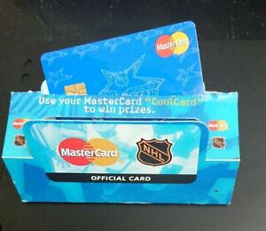 1999 MASTERCARD RELOADABLE CASH CARD - *NHL* - ORIGINAL PACKAGING - MINT - RARE