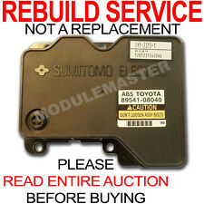 01 02 03 Toyota Sienna ABS module Sumitomo REBUILD REPAIR