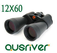 Celestron SkyMaster Series 12x60 Binoculars Porro Prism Sharp Clear Views 71007