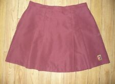 Nike Tennis Skirt- Small Polyester-Pleats -No Shorts Under-Mulberry