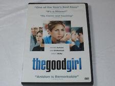 The Good Girl DVD 2003 Dual sided Widescreen & Full Frame Jennifer Aniston