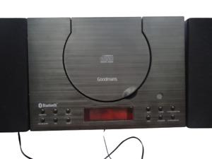 goodmans 329582  CD micro player system