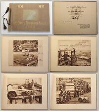 100 Jahre Friedrich Arnold GmbH Greiz 1937 Geschichte Thüringen Weberei Biene xy
