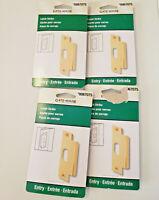 Dust Cap Screws /& Door Silencers Timely Frame Strike Package TA-1 Inc.C plate