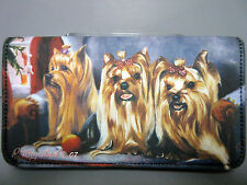 New Yorkshire Terrier Dog Check Book Wallet (Zipper) Terriers Dogs Ruth Maystead