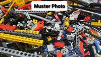 Lego Technic 500 Teile Sammlung Liftarme Zahnräder Lochbalken Pins  Technik