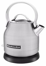 KitchenAid KEK1222SX 1.25-Liter Brushed Stainless Steel Electric Kettle