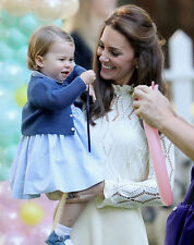 Catherine, Duchess of Cambridge & Princess Charlotte UNSIGNED photo - H5793