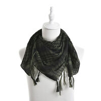 Reliable Cool Arab Shemagh Keffiyeh Military Tactical Palestine Scarf  Shawl  PQ