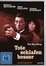 DVD * TOTE SCHLAFEN BESSER - THE BIG SLEEP ~ Robert Mitchum # NEU OVP $