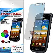 5 Pellicola Per SAMSUNG I8150 GALAXY W Proteggi Schermo Display LCD Pellicole