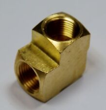 "Brass Fittings: Brass 90° Elbow Extruded, Female Pipe Size 3/8"", QTY. 1"
