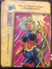 Marvel Overpower IQ Storm X-Men Leader X2 NrMint-Mint Card