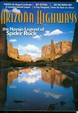2001 Arizona Highways Magazine: Spider Rock/Sawmill Canyon/North Rim/Patagonia