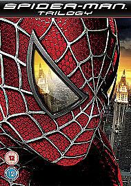 Spider-Man Trilogy (DVD, 2009, 3-Disc Set, Box Set)