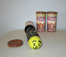 2 SNAKE IN A NUT CAN  SPRING LOADED TRICK NUTS GAG CLASSIC PRANK NOISE MAKER
