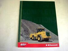 Kawasaki 65Zv Wheel Loader Color Brochure