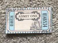 Alice In Wonderland Tea Party Paper Tickets Birthday Wedding Token Favour