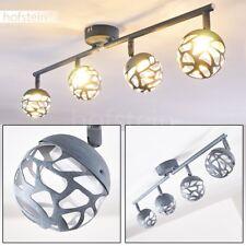 Plafonnier LED Lustre Design Lampe à suspension en métal Lampe de cuisine grise